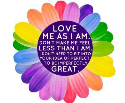 love as I am